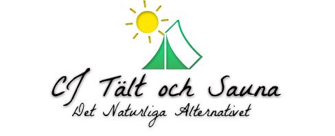 Mobil logo CJ Tält & Sauna