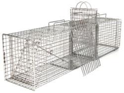 Tomahawk TNR-fälla med avdelare och transfer cage