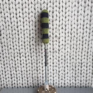 grön/svart rand 34