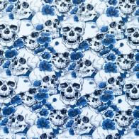 Dödskalle blå - Dödskalle blå