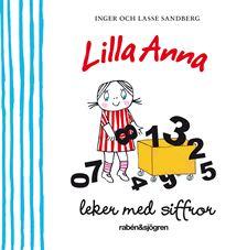 Lilla Anna leker med siffror