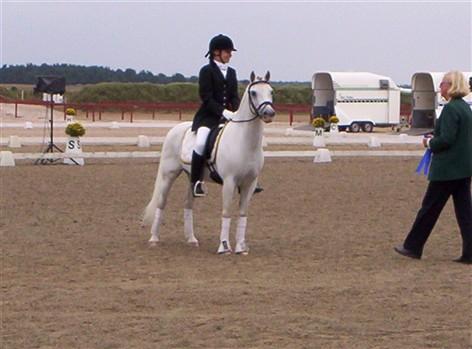 Possum & Daniella på prisutdelningen SM 2007 på Willands RF. Possum var silvermedaljör där Findus och Julia Aspnäss tog guld.