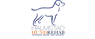 Halmstad Hundrehab mobil logo