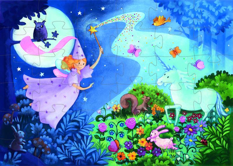 Pussel Fairy Unicorn