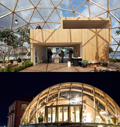 Dome of Vision, KTH
