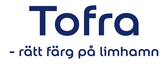 tofra färgl logo