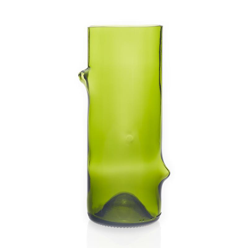 Jesper Jensen. Vaser återvunnet glas, liten grön