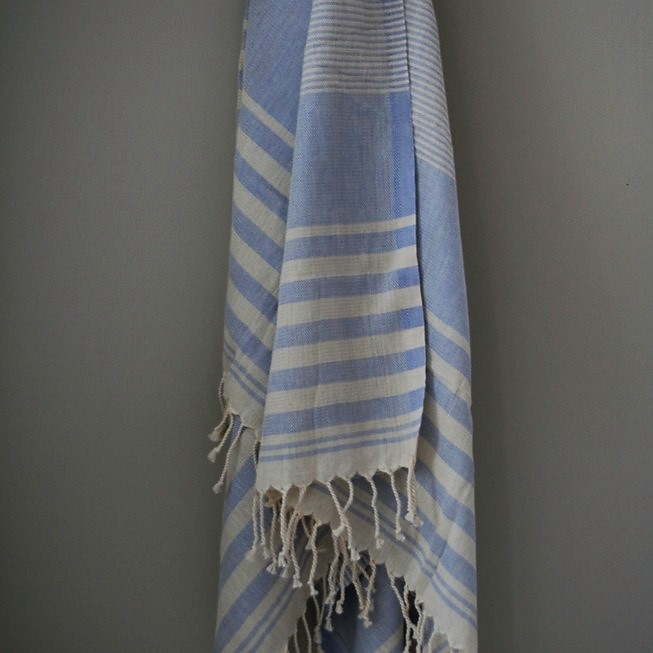 Hamamhandduk Serenity blå (2)