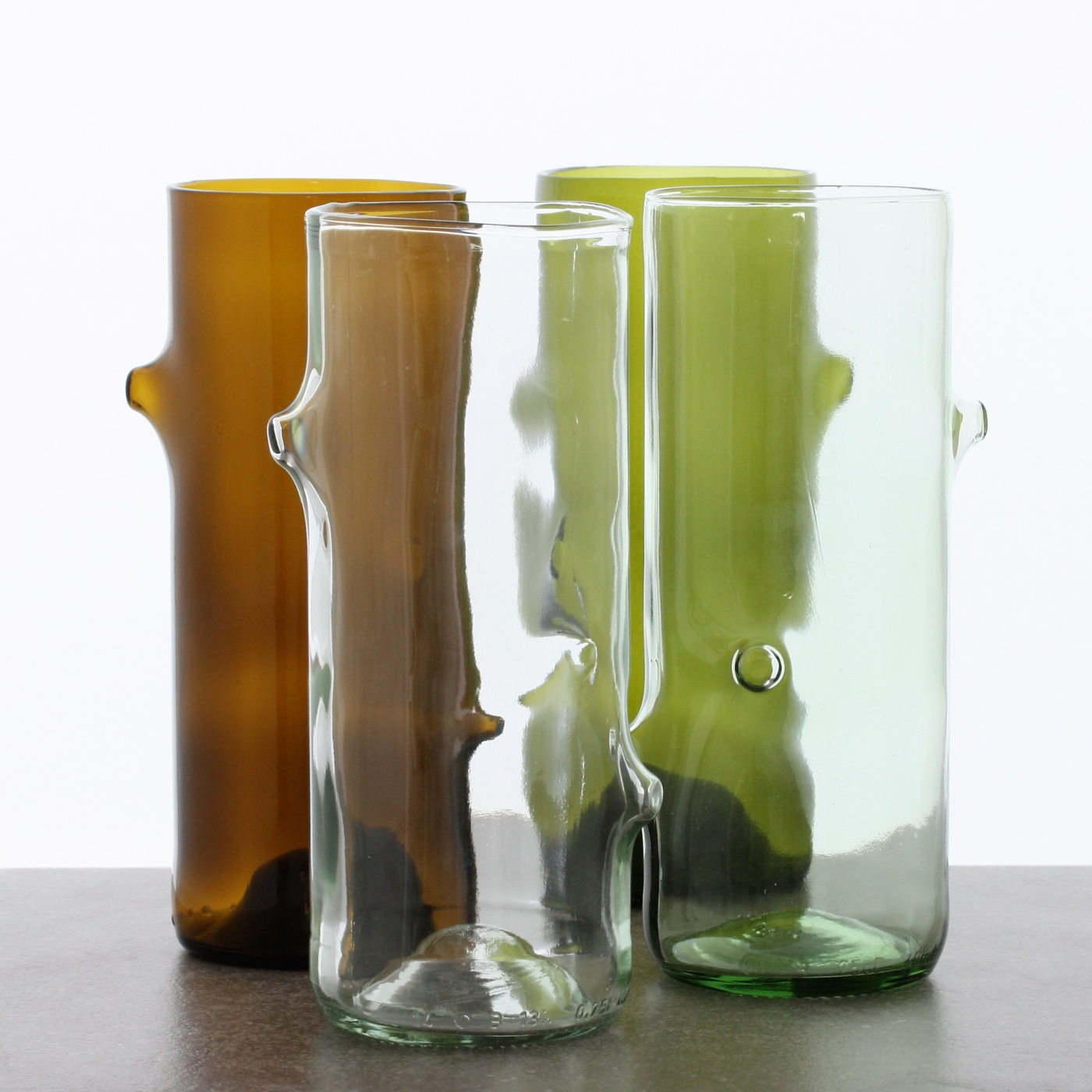 Jesper Jensen. Vaser återvunnet glas