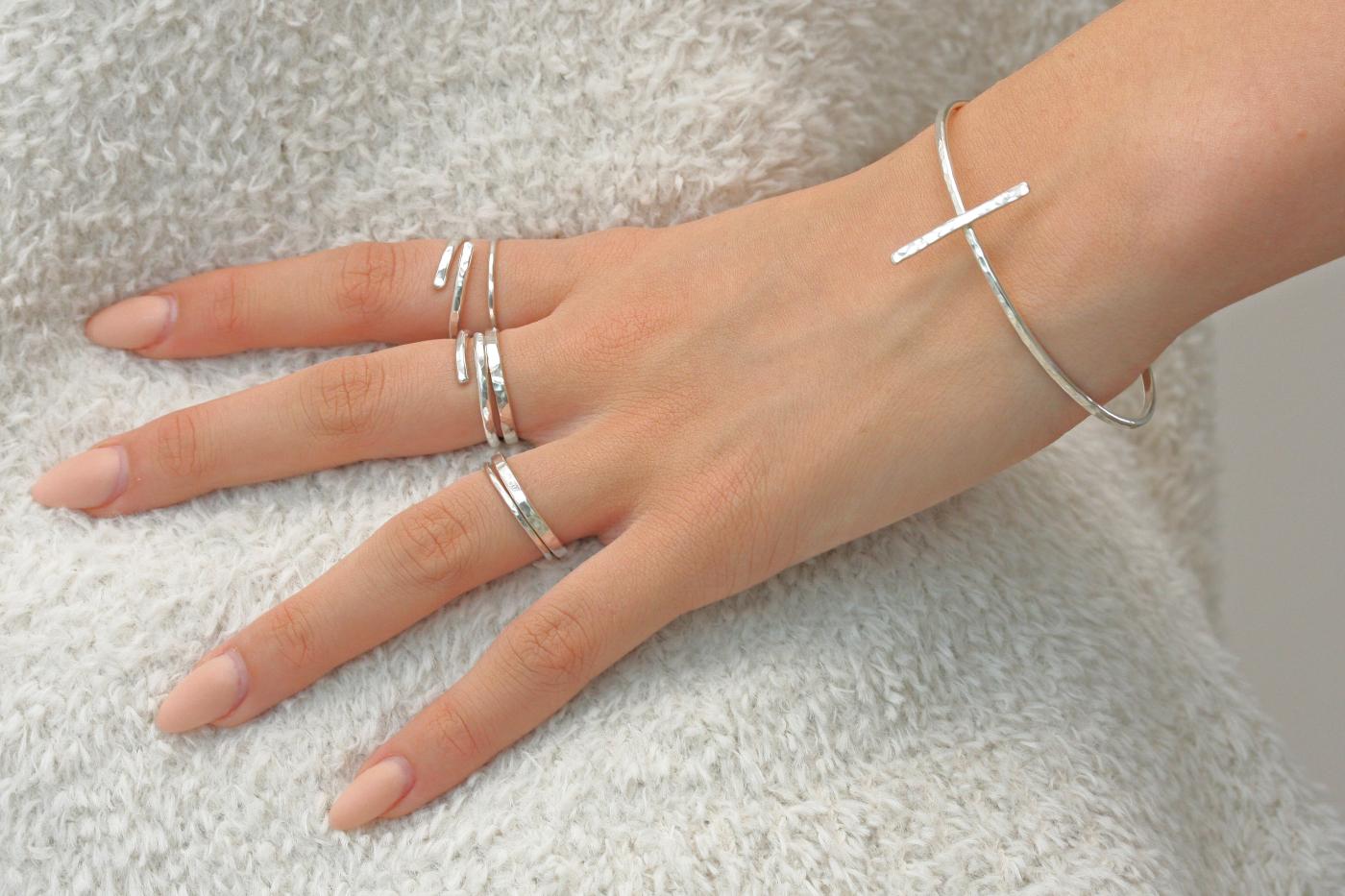 MNOP smycken. Återvunnet silver/ekosilver.