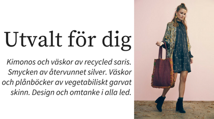 Sissel Edelbo, recycling saris.