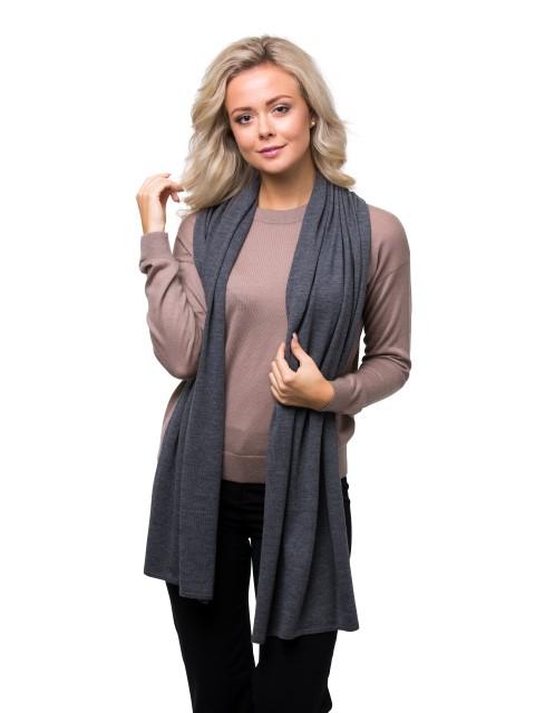 Summer scarf grey