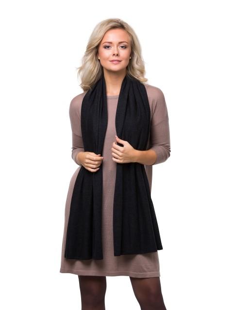 Summer scarf dark grey