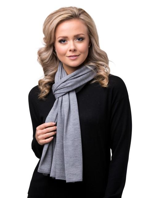 Summer scarf light grey