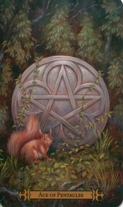 Moderns spellcasters ace of pentacles