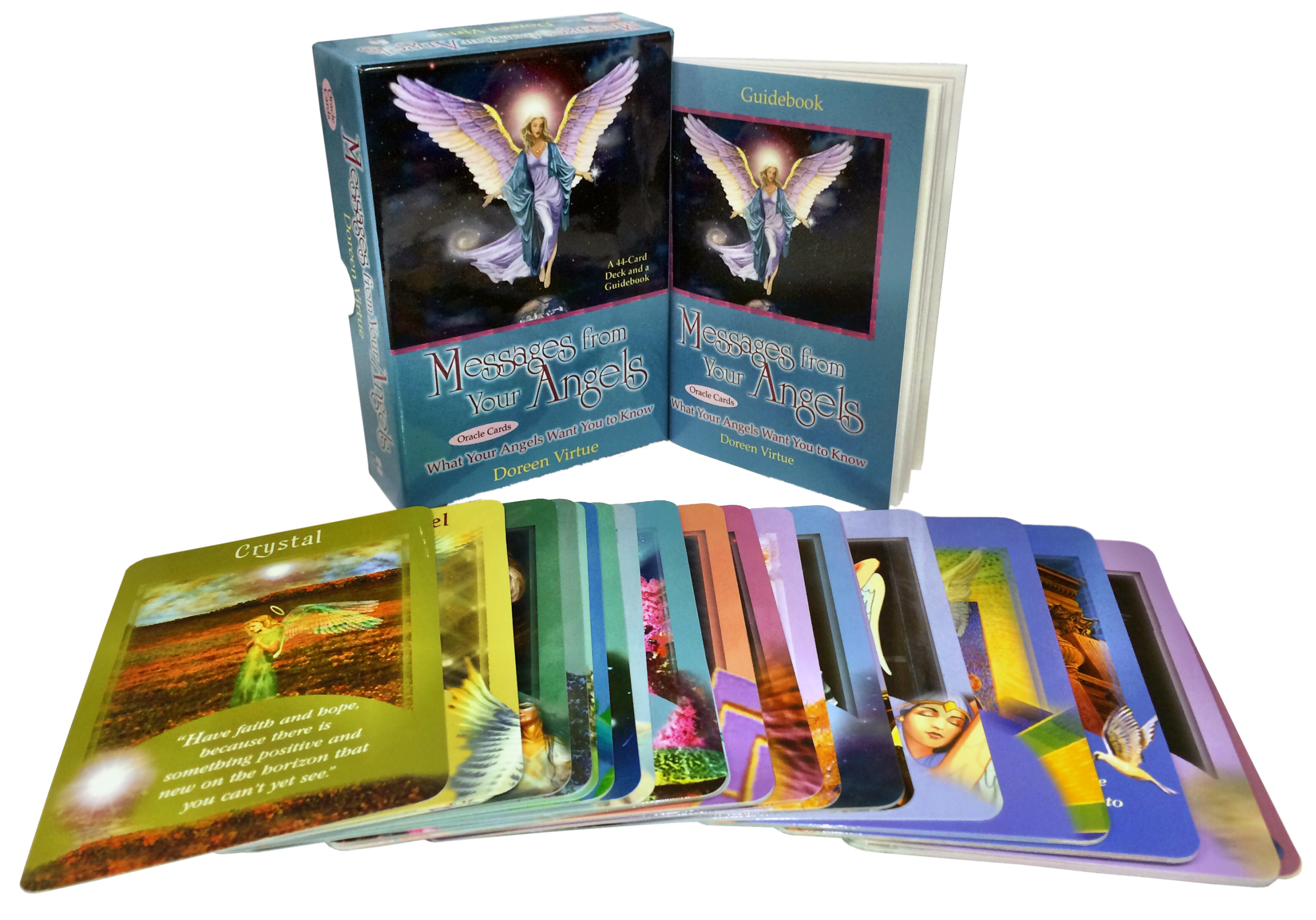 Messages from your angels oracle cards 9781561709069