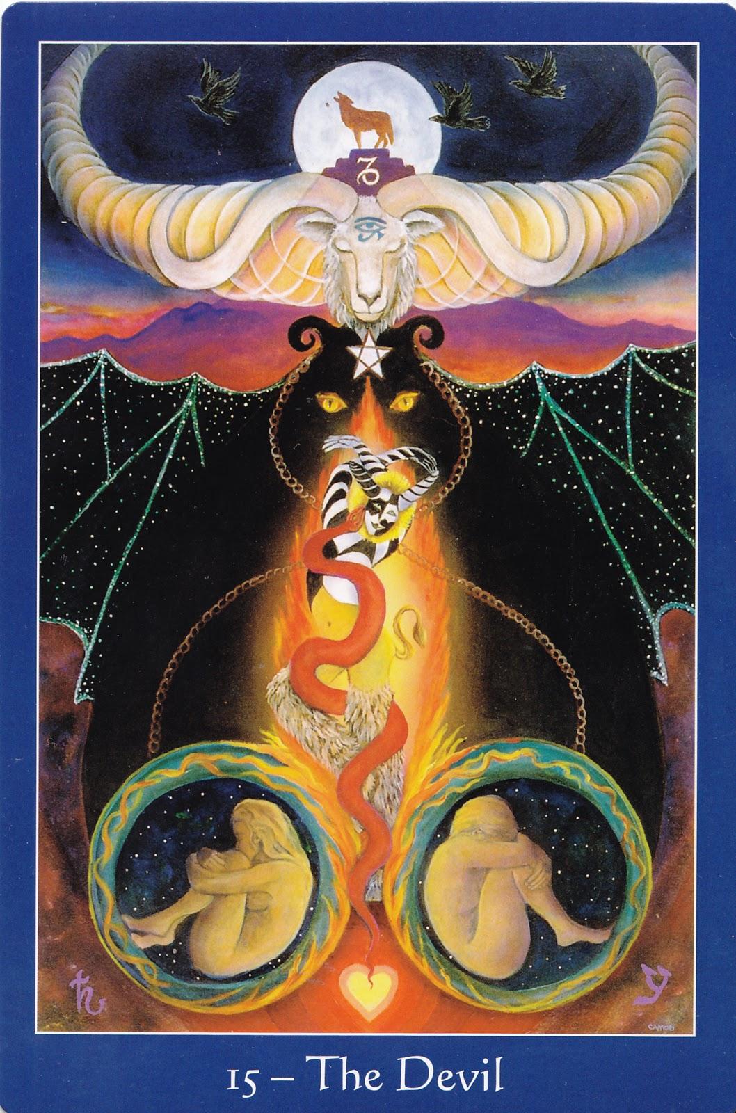 The Star Tarot 9780764352997-Devil