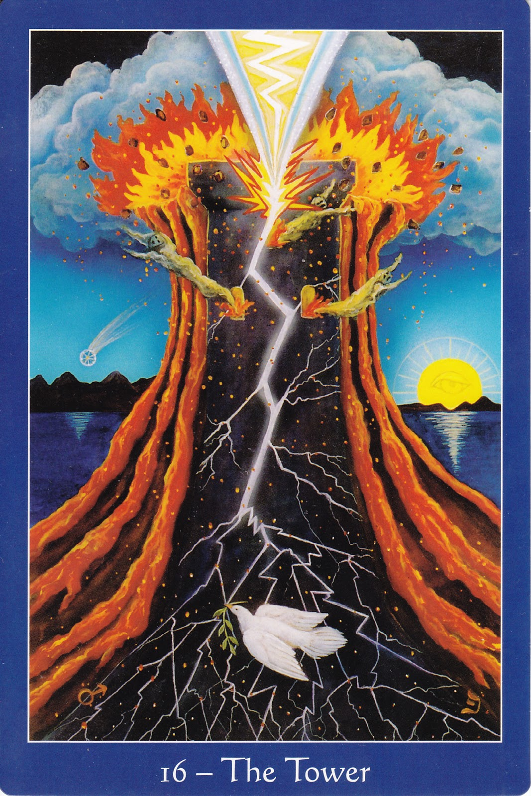 The Star Tarot 9780764352997-The Tower