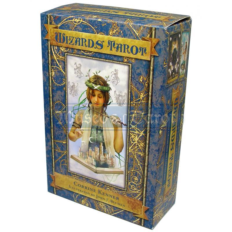 Wizards Tarot Corrine Kenner 9780738712857-box