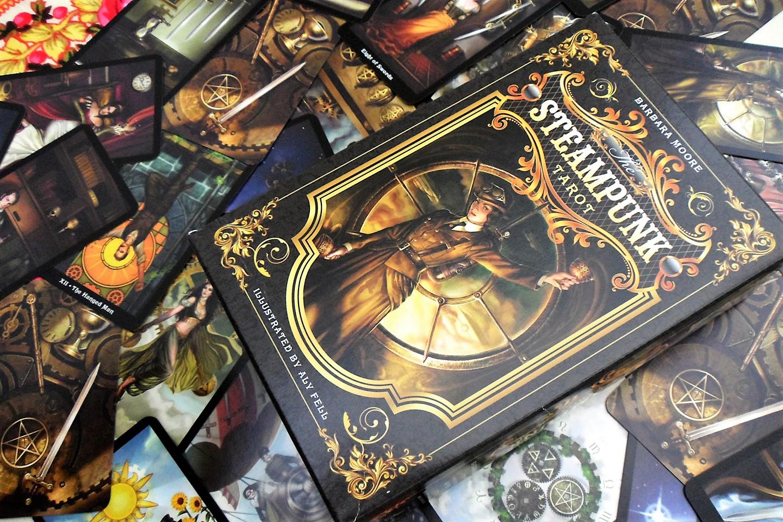 The Steampunk tarot 9780738726380-cards