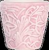 Mateus- Lace Mug 30cl - Mateus lace mug 30 cl light pink