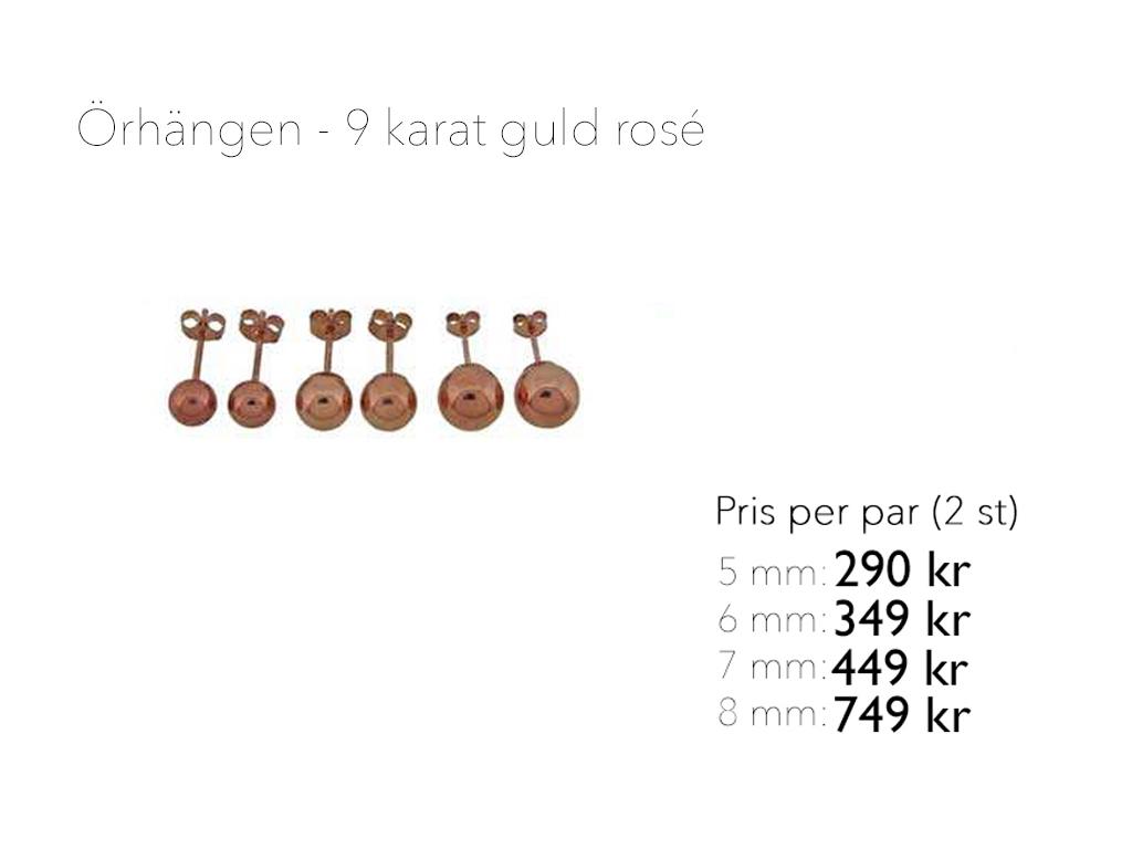 9 k rosé Gullviva
