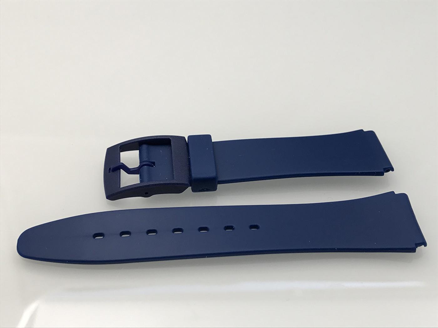 Mörkblått gummiband