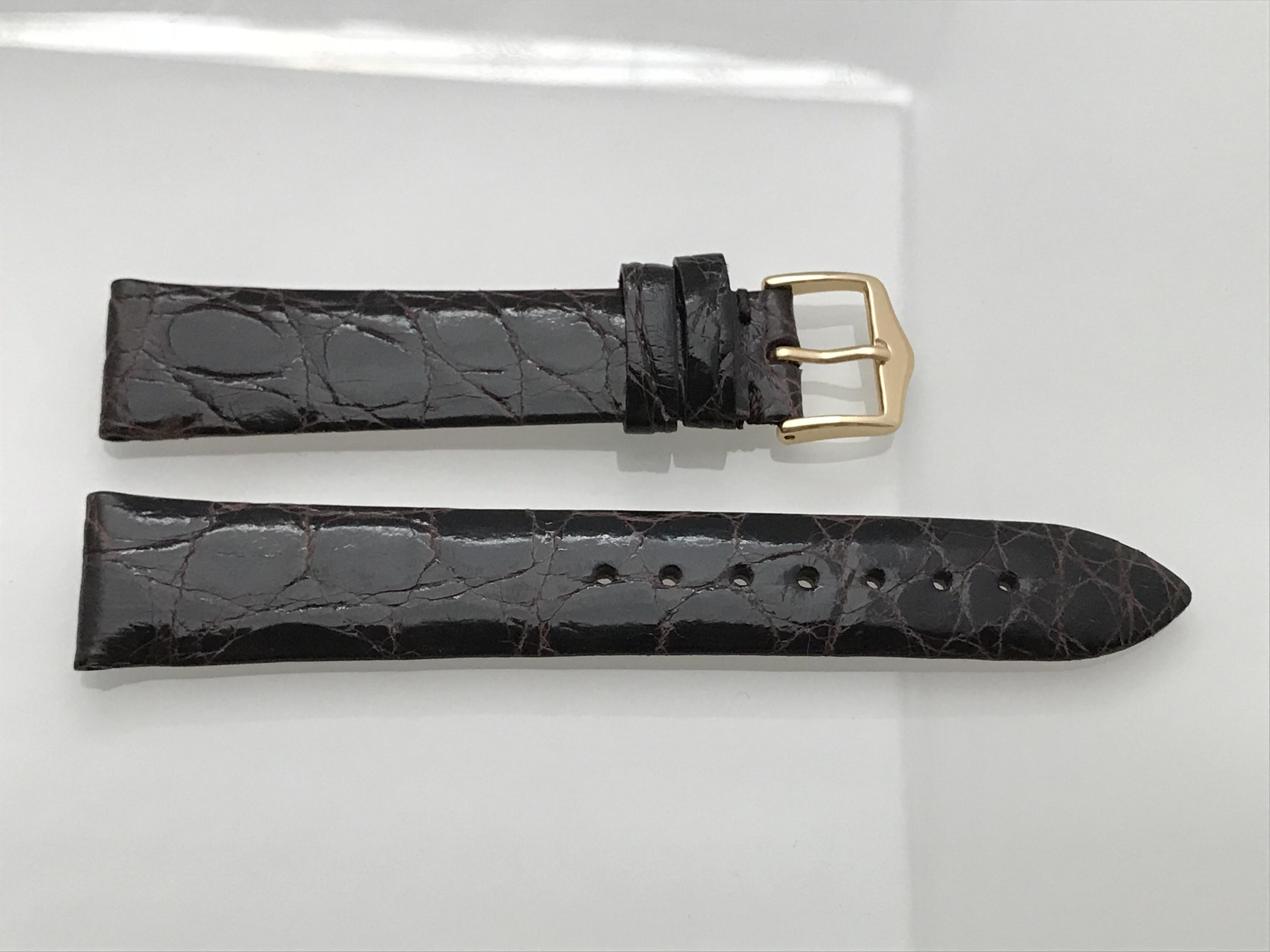 Mörkbrun alligator