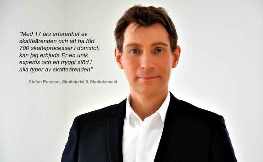 Skattejurist Stefan Persson AB