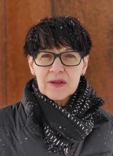 Konstnären Annika Persson Åkeblom