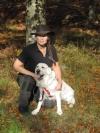 Jag och min Golden Kelly 3 år hösten 2014