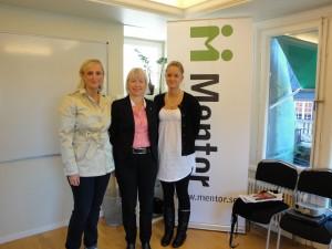 Maria Langen, Karin Jordås (Mentor) och Maria Langen