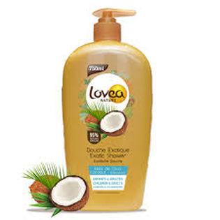 Lovea Nature Coconut showergel 750ml - Lovea Nature Coconut showergel 750ml