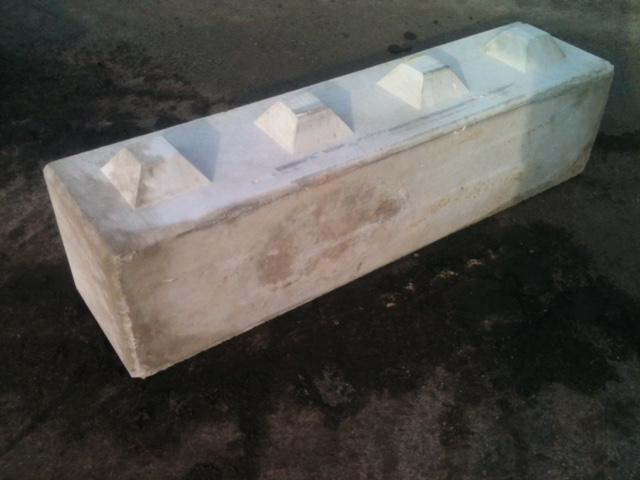 Kuskatorpets betongblock 160x40x40