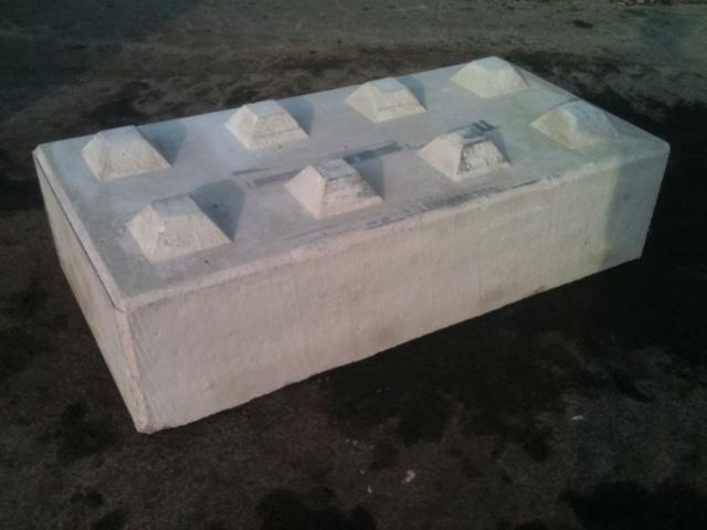Kuskatorpets betongblock 160x40x80