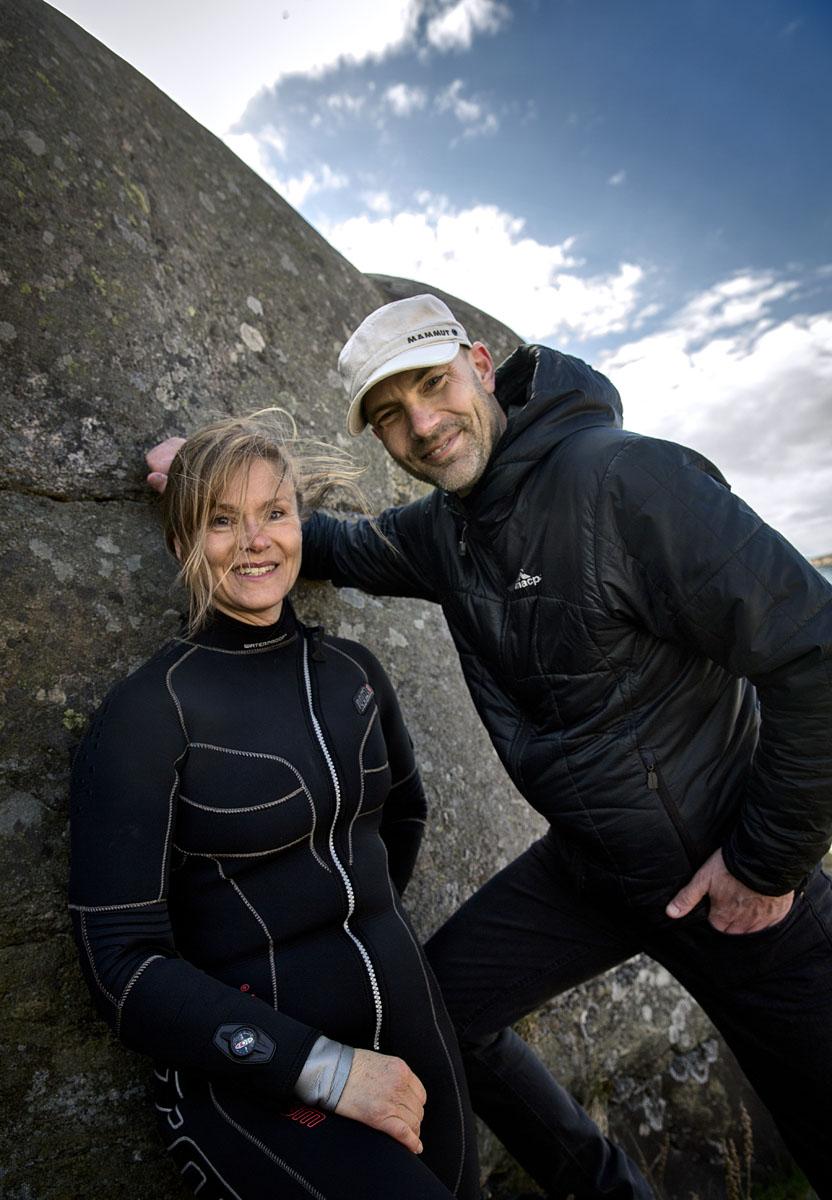 Linnea & Jonas Foto: Stefan Edetoft