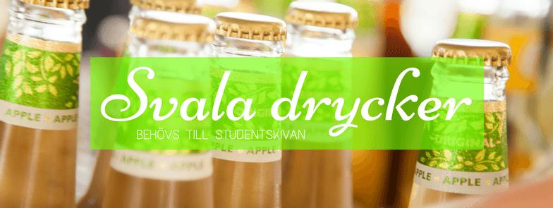 Svala drycker till Studentskiva