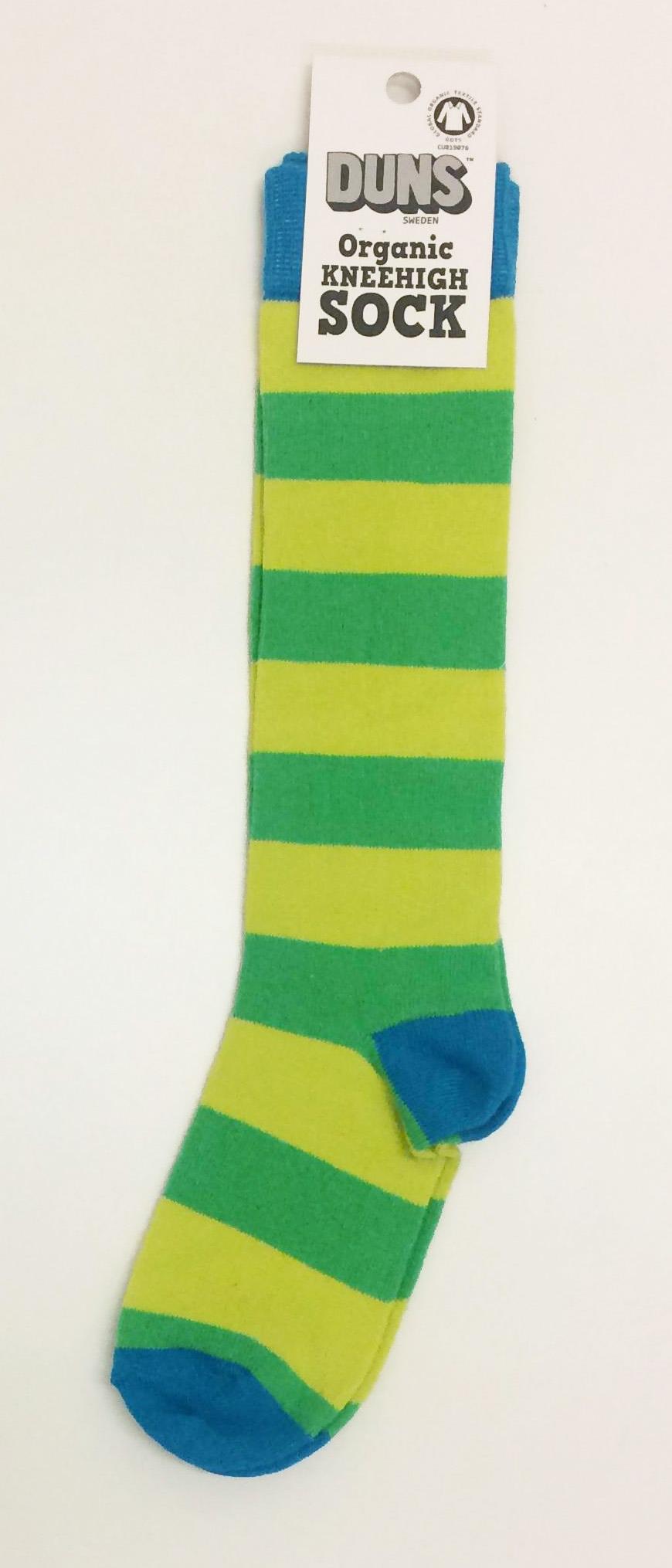 DS knästrumpa grönblå