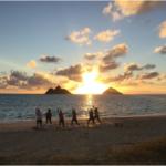 Sunrise yoga Hawaii