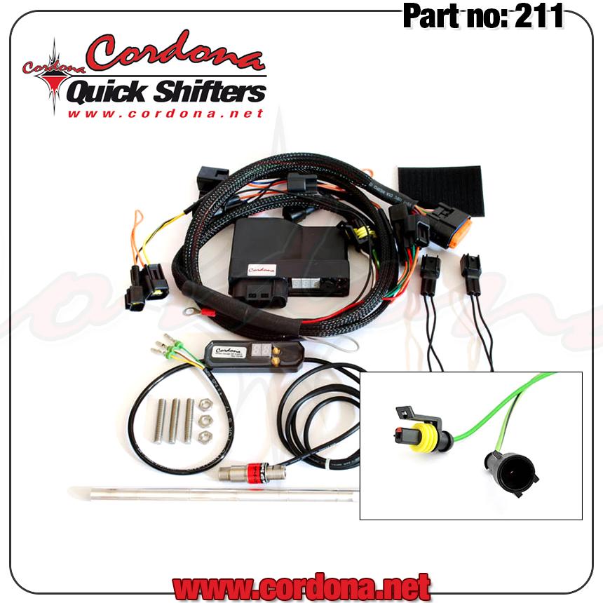 Cordona Quickshifter 211