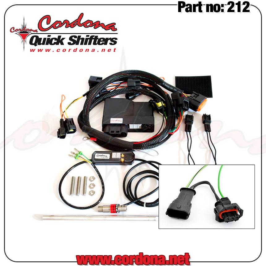 Cordona Quick Shifters 212