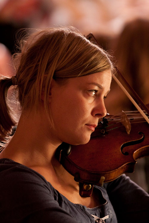En ung orkester