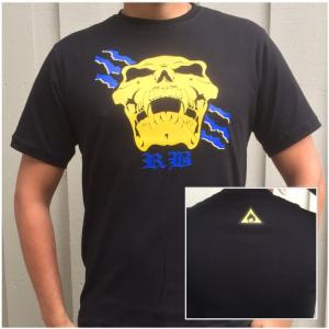 T-shirt, RB- dödskalle - S