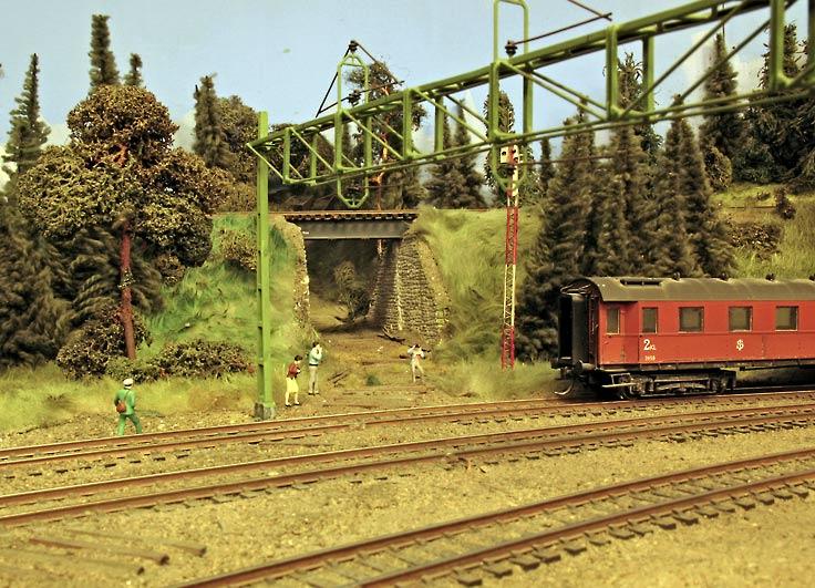 Farsarvets station, f.d. utfarten mot Saxnora