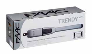 FAAC drivutrustning, Paketlösning: Trendy Kit - Paketlösning: Trendy Kit