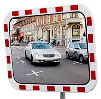 Trafikspegel rektangulär - Trafikspegel 600x400mm