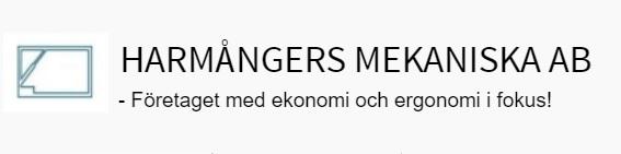 Harmångers Mekaniska AB logga