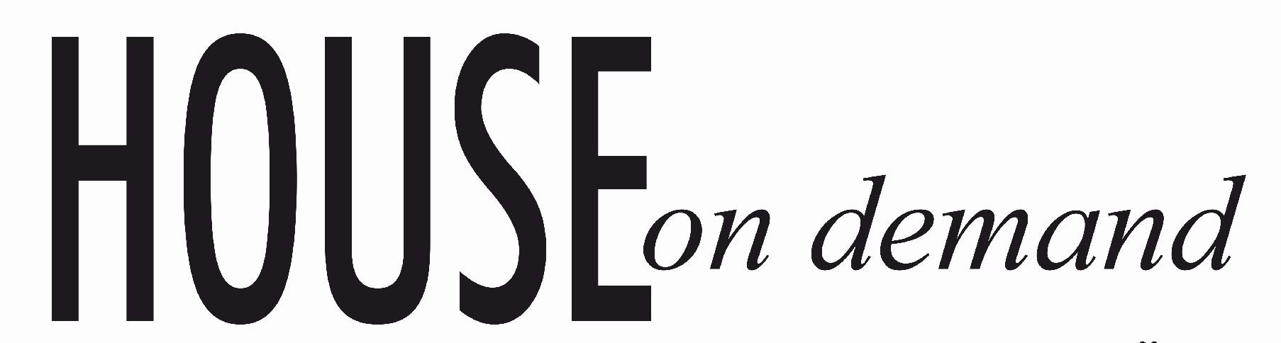 logo HOUSE on demand