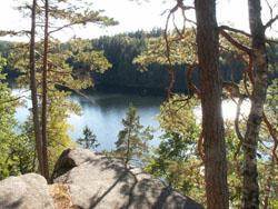 Klintasjön vid Singoallas grotta