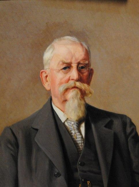 Porträtt av Axel Danckwardt-Lillieström 1919, Östgöta hypoteksförening